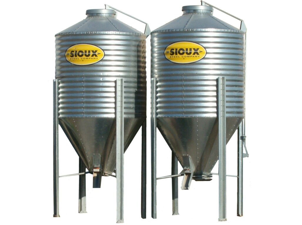 Bulk Feed Bins | Sioux Steel Company