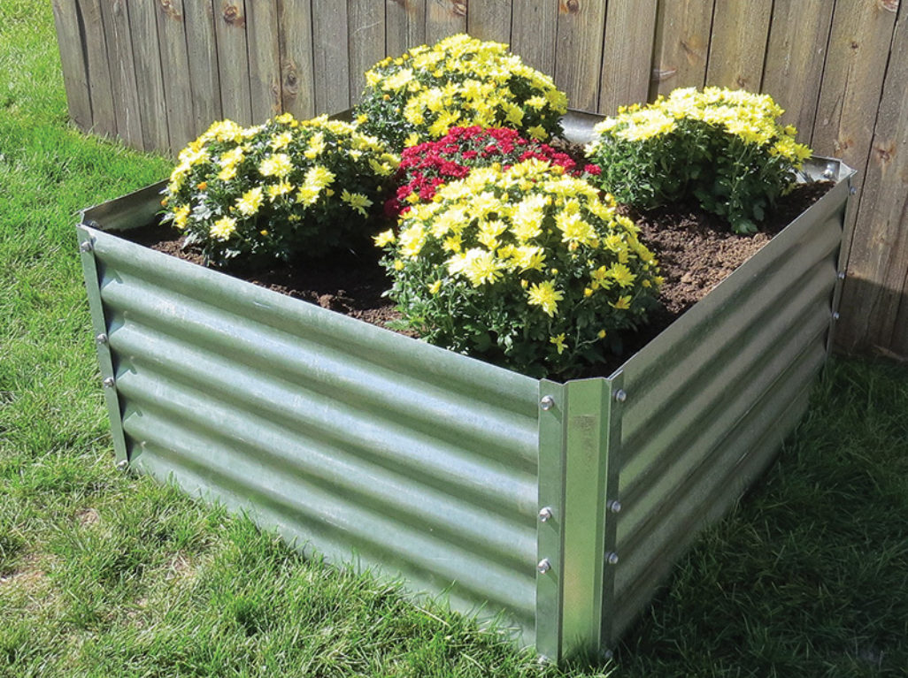 Verdant Garden Beds Sioux Steel Company