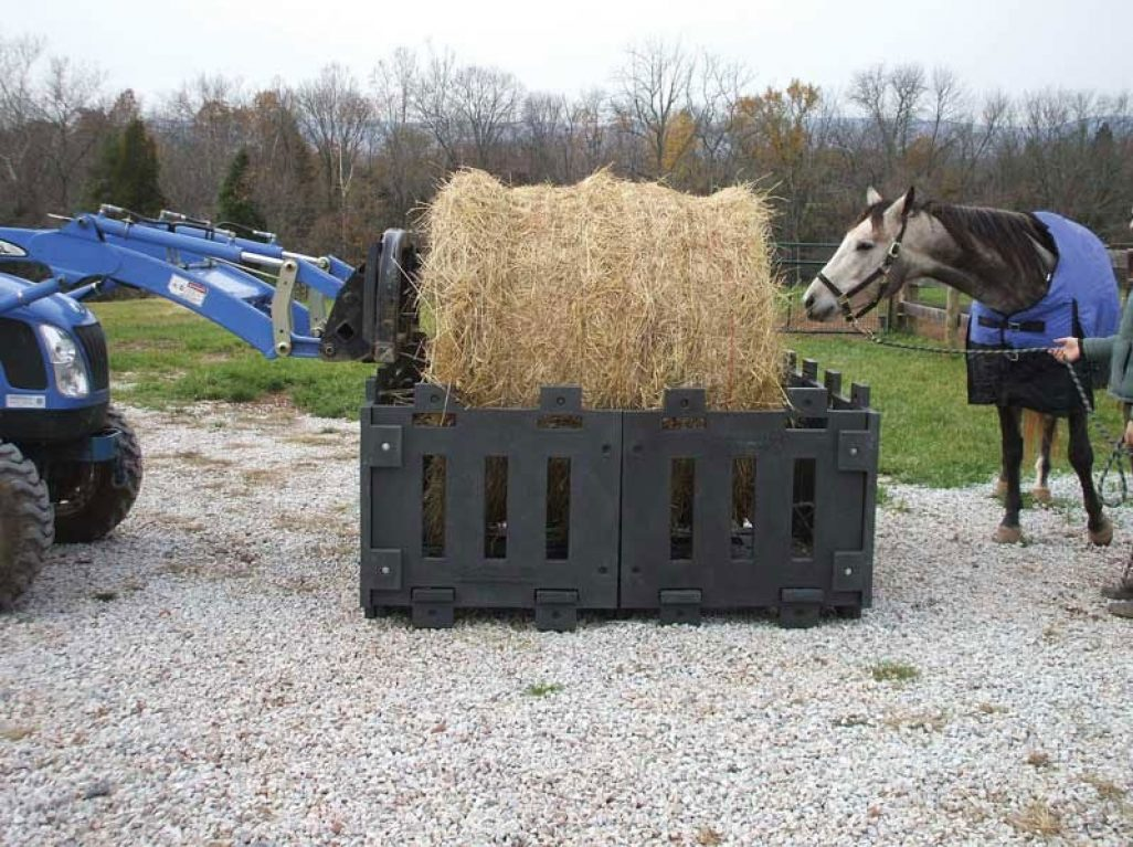 Poly Hay Feeders | Sioux Steel Company