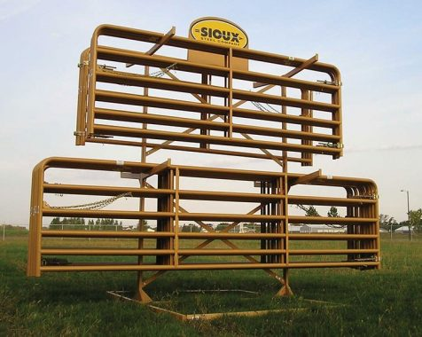 Gate Rack Display