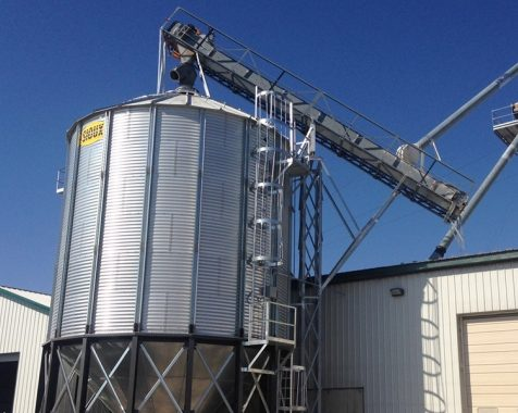 Hopper Bins | Sioux Steel Company