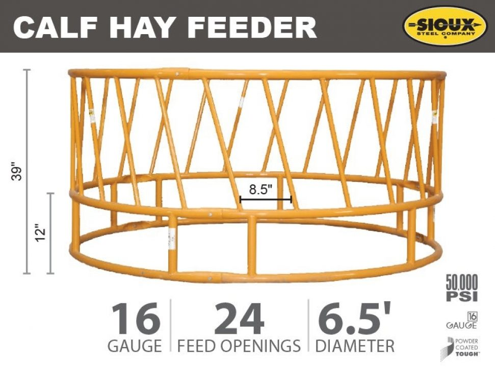 Calf Hay Feeder Features
