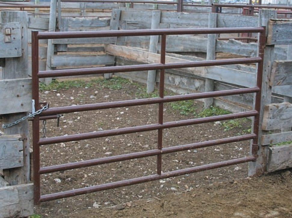 """2"""" Cattleman's Gate"""