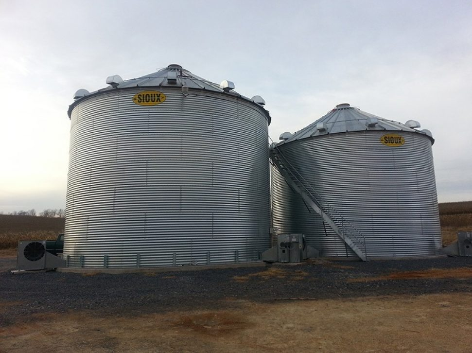 Farm Bins With Centrifugal Fans