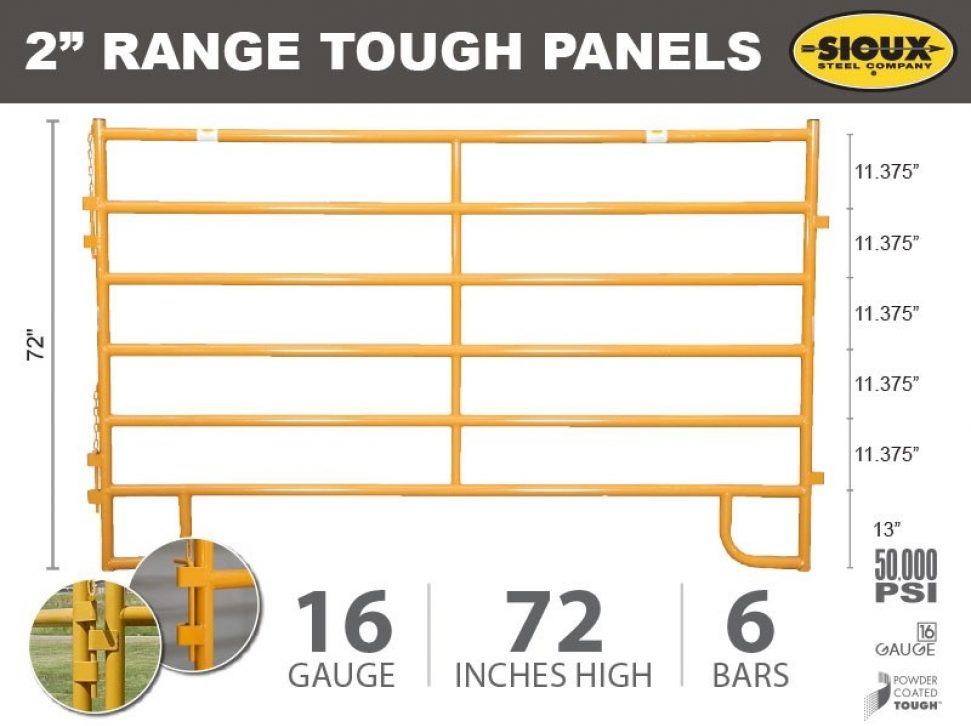 "2"" Range Tough Panels"