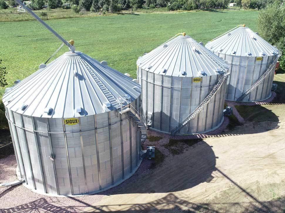 Heavy Duty Sioux Steel Bins