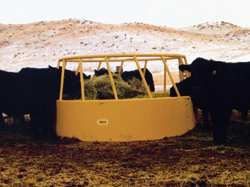 Bull Hay Feeder