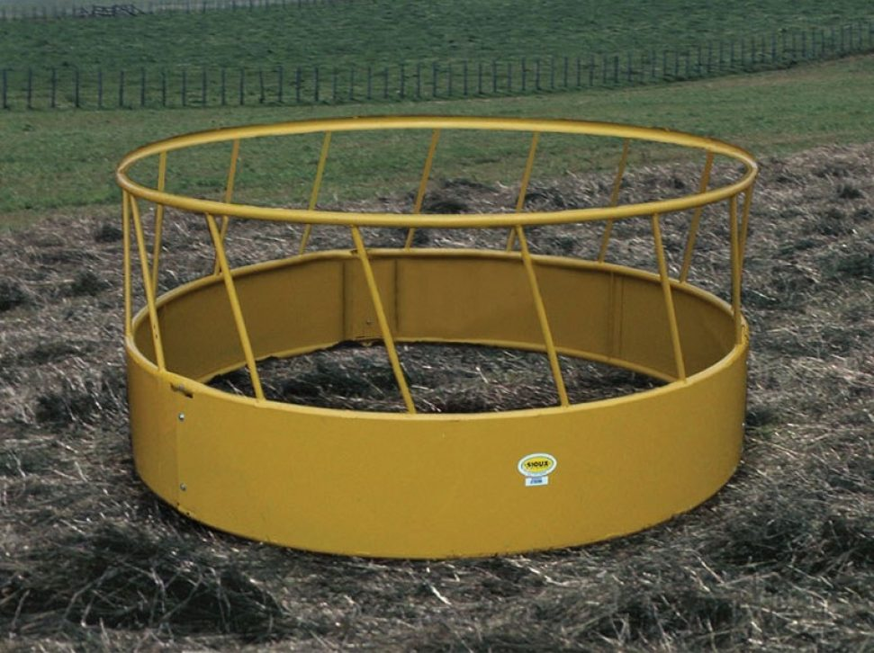 Closed Bottom Hay Feeder