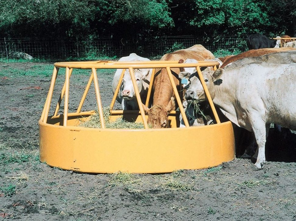 Double Slant Hay Feeder