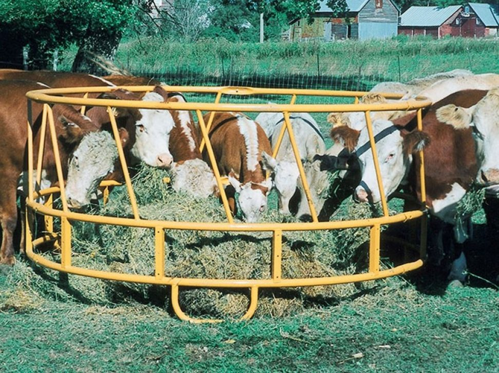 Open Bottom Hay Feeder