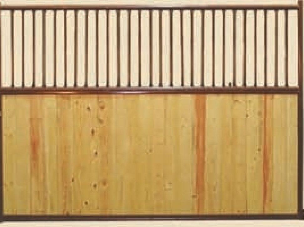 Orginal Horse Stalls Vertical Rail Divider