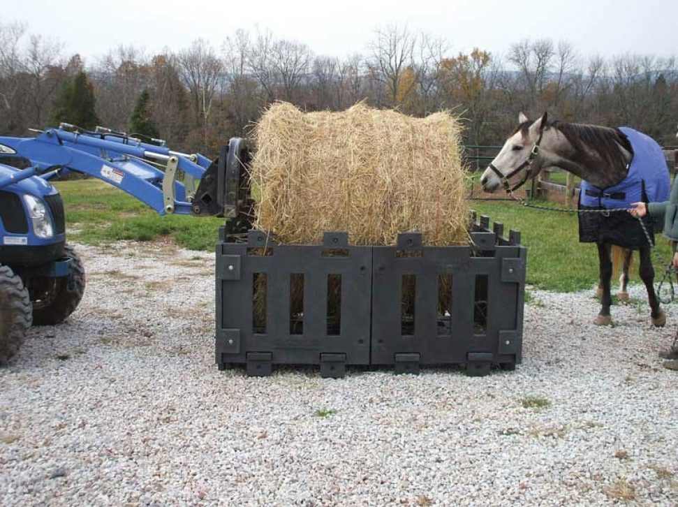 Poly Hay Feeder