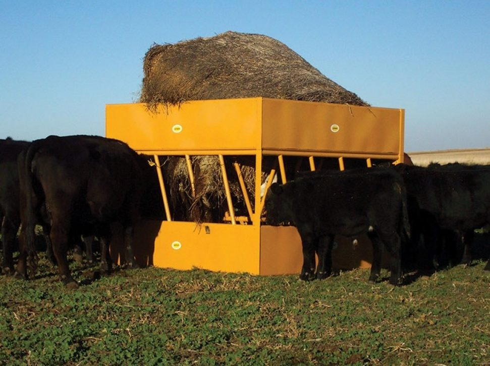 Square Hay Max Feeder
