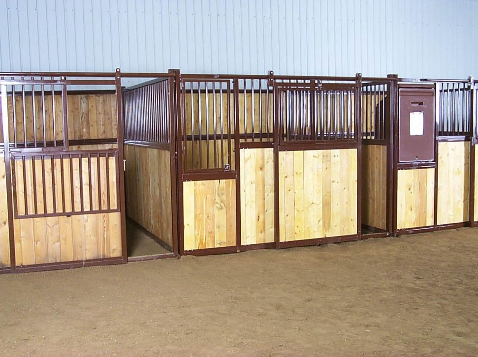 Traditional Horse Stalls